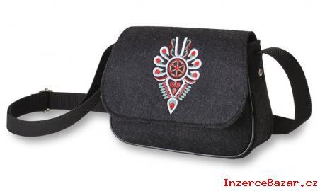 Moderní dámská filcová kabelka