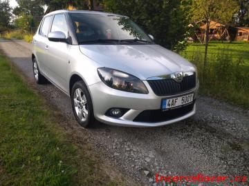 Škoda Fabia 1. 2TSI 63kW r. v.  2014