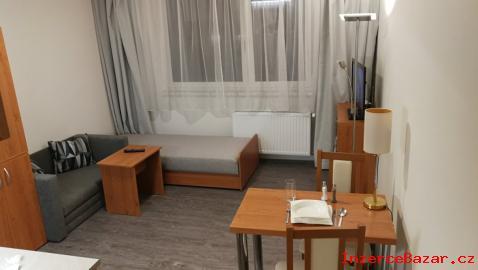 Pronájem nového vyb.  bytu 1+kk ve Zlíně