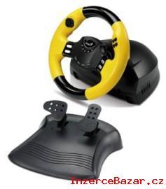 Prodám herní volant Genius+pedály