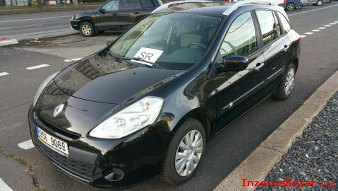 Renault Clio kombi 74 kW, 1149 cm3, 2009
