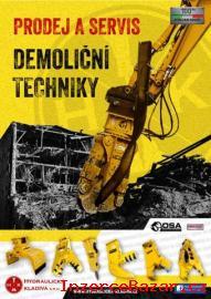 Demoliční technika a demoliční kladivo