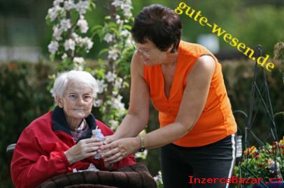 Pečovatelka o starši osoby - Nemecko