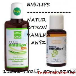 Podpora kojení-Emulips anýz-zácpa