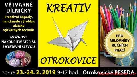 Kreativ Otrokovice, 23. -24. 2. 2019