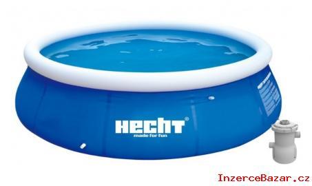 Bazén na zahradus filtrací