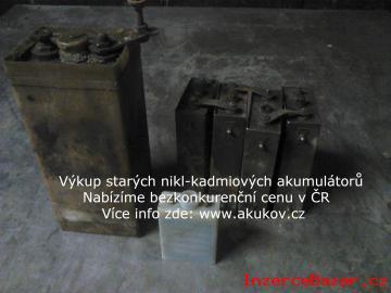 výkup starých nikl-kadmiových akumulátor