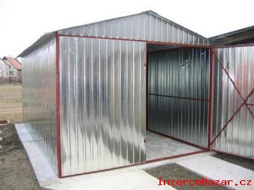 AKCE na plechové garáže